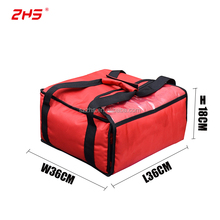 14'' thermal insulated pizza food delivery cooler bag