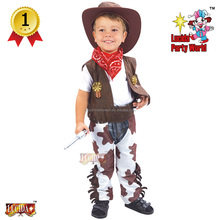 Lucida oem hot sale toddlers cow boy carnival costume