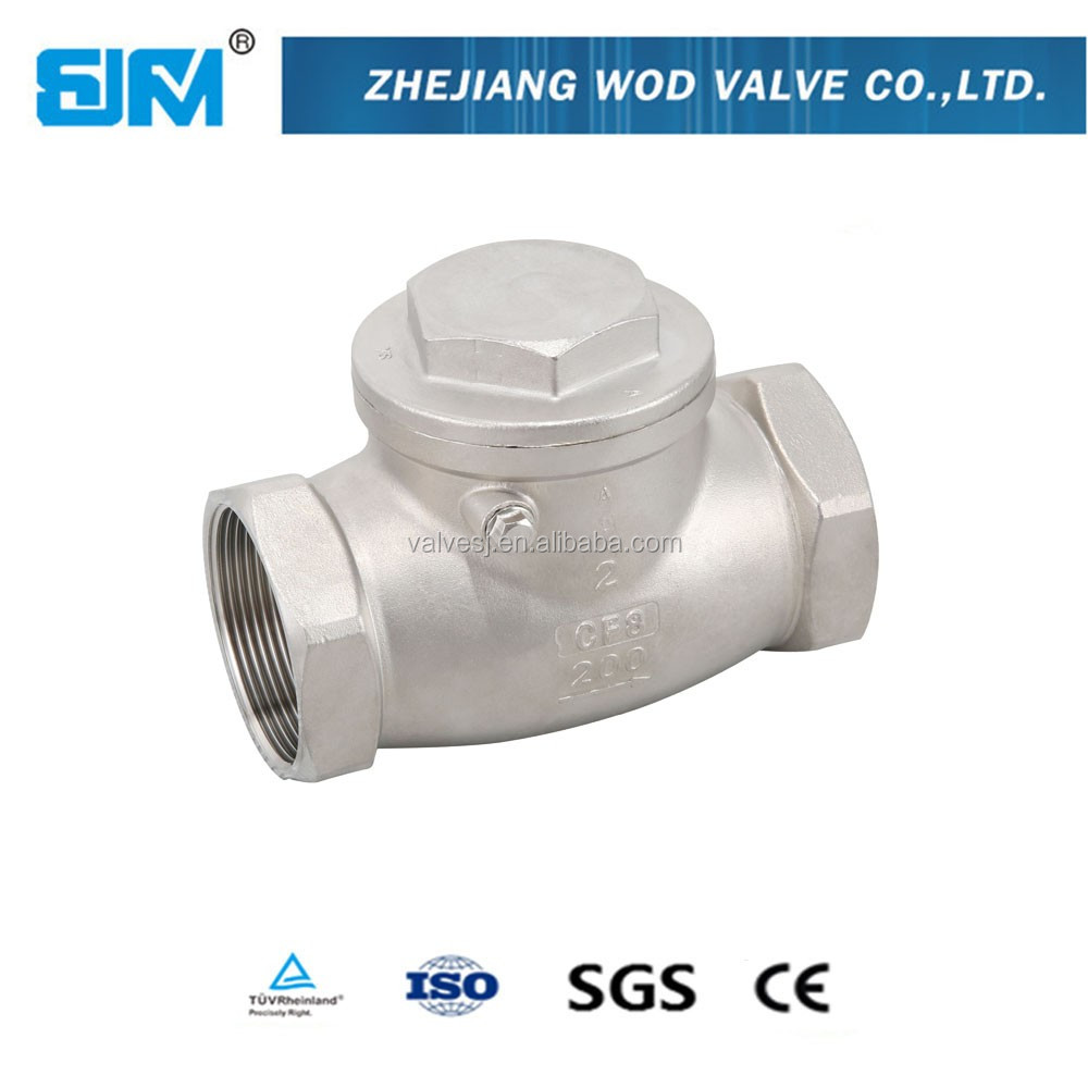 Made In China Competitive Price titan stainless steel swing check valve