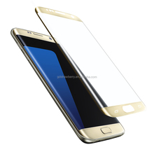 3D curved tempered glass perfect cut fit for samsung galaxy s7 edge screen protector