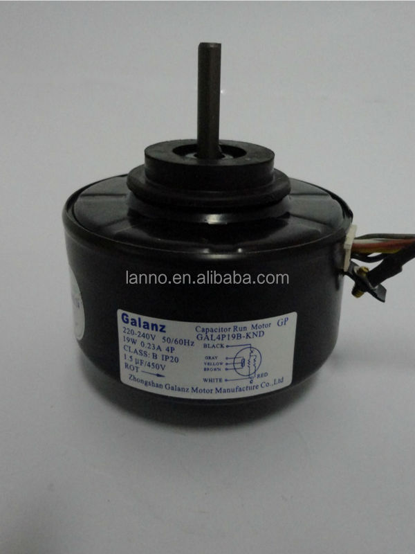 Air conditioner spare parts ac electric fan motor for for Dc motor air conditioner