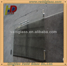Building material 6mm tempered glass shower wall panels
