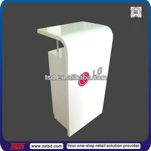 TSD-W260 Custom free standing pos mobile phone display counter,mobile shop decoration,mobile phone store furniture