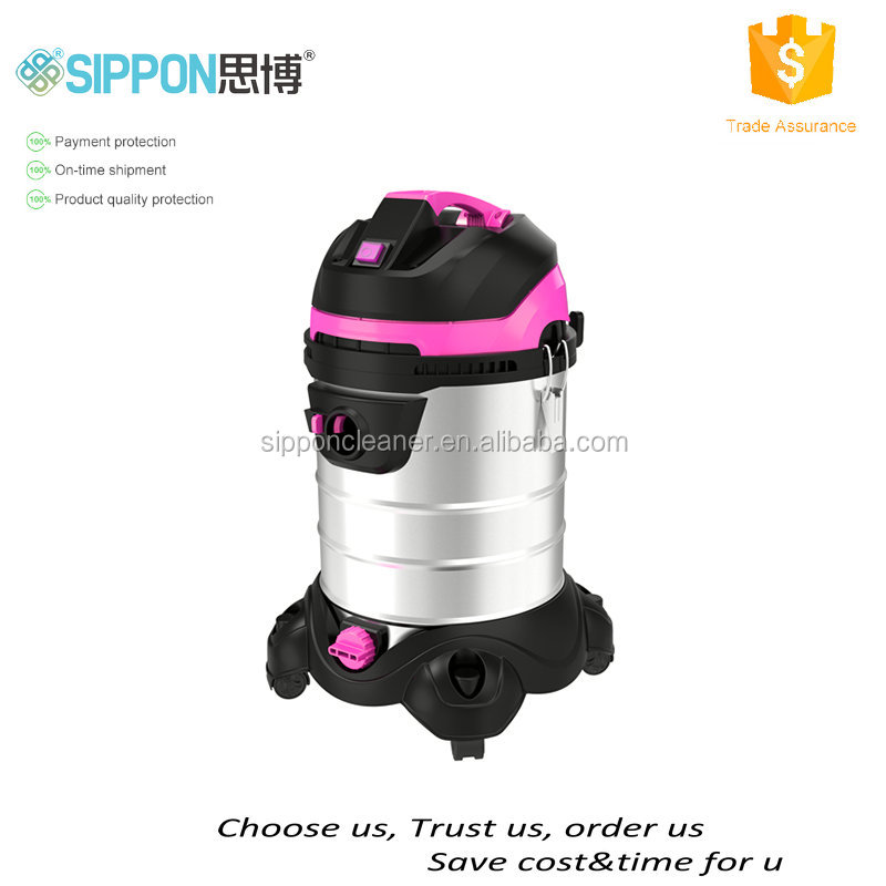 stainless steel socket function industrial wet and dry vacuum cleaner