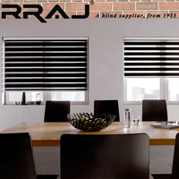 RRAJ Double Layer One way Window Coverings Shade