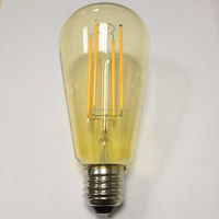 whit ETL CE ROHS approved reyro style long rods ST64 LED filament bulbs