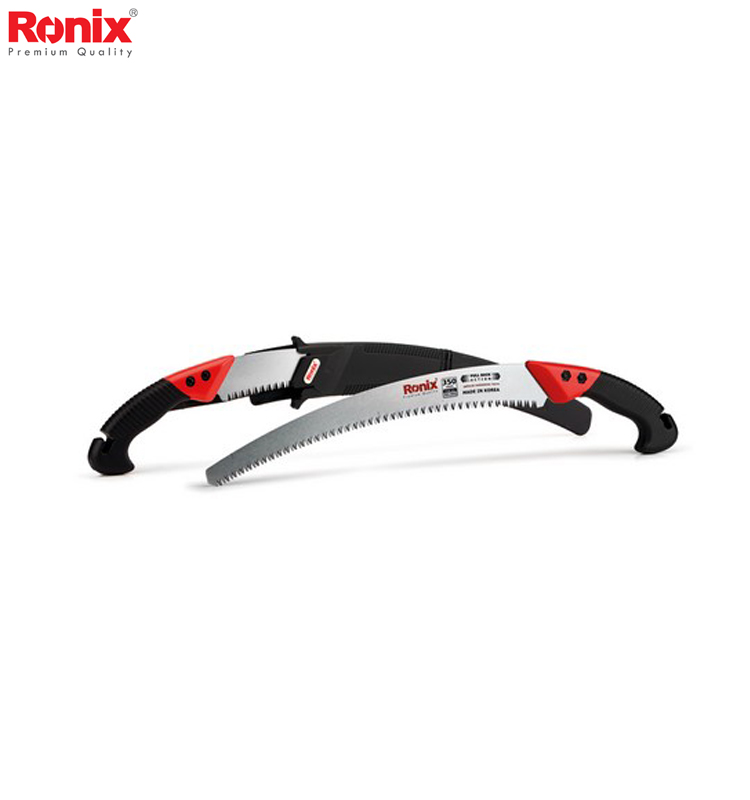 Ronix New Design Wood Cutting Saws Portable Curved Pruning Saw 350mm RH-3602