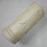 nonwoven needle felt pps filter bags for cement industry