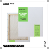 "4Oz 16x20"" Economy Cotton Cheap Stretched Canvas with 0.67""*1.18""(Slimer profile)Spruce Wood, Wholesale Artist Stretched Canvas"