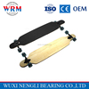 Fashion Cruiser Bamboo Skateboard, black grip tape deck longboard