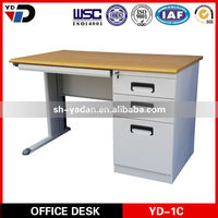 Office Furniture Steel Table Executive Desk and Moving Cabinet in Pakistan market