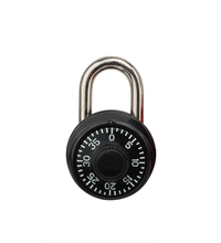 High Security Number Code Travel combination lock, Padlock, Standard Dial Combination Lock