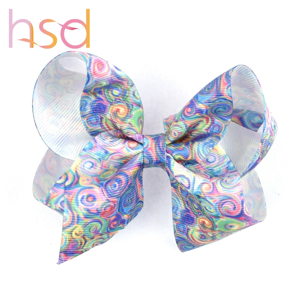 Wholesale 3 inch small baby ribbons hair bow clip