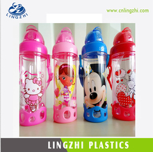 Customized Logo Acceptable New Design Water Bottle with Straw