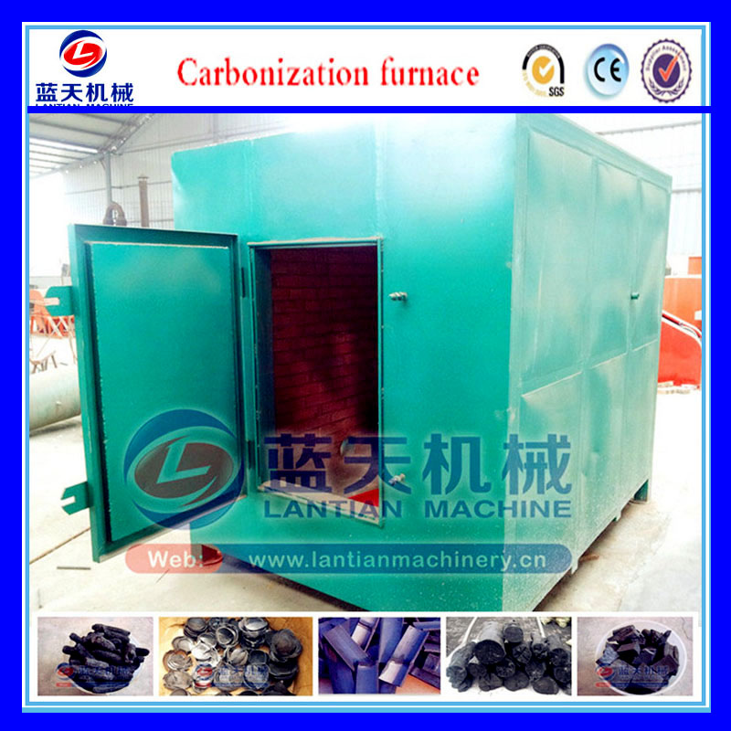 1-10t Per Day Bbq Sawdust Charcoal Briquette Making Kiln