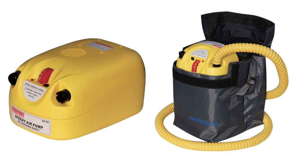 12V 80Kpa electric air pump for inflatables