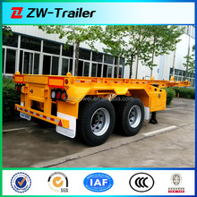 2 Axle 30ft Skeleton Container Semi Trailer / Container Chassis For Sale ( Size&Axle Optional )