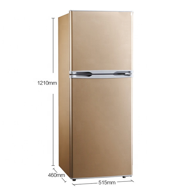 139L Cheap Kitchen <strong>Appliances</strong> Energy Saving Top Freezer Two Door Home Fridge