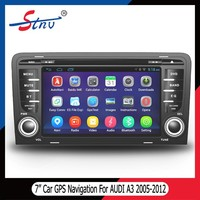 Android 4.4.4 gps navigation for 7 inch AUDI A3 2005-2012 with RDS/OBD