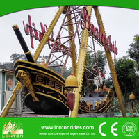 Theme Park Children Game Custom Made Pirate Ship For Sale
