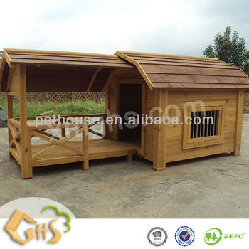 Balcony Dog House with Porch