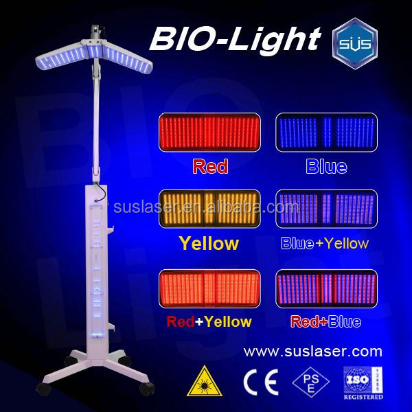 PDT/LED biolight skin care device BL001, CE/ISO pdt pimple removal beauty machine