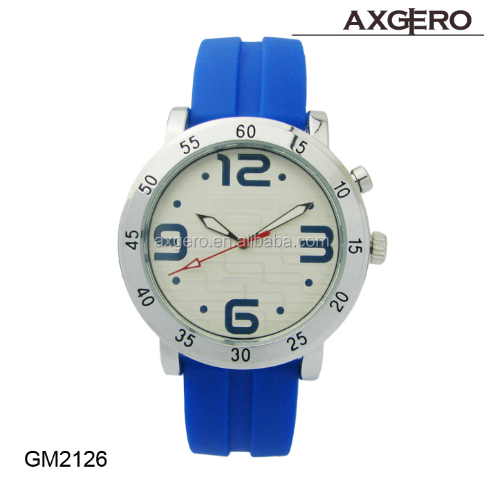 Fashion artistic wrist watch ,sports watch, rubber band watch