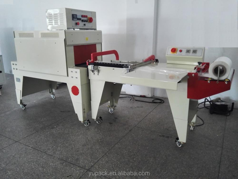 Semi-auto L bar sealer cheap shrink wrap machine with CE