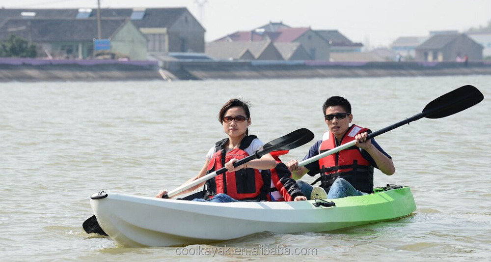 Double sit on top 2 1 seater recreational kayak view for Double fishing kayak