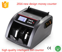 intelligent bill counter CE ROHS approval banknote counter hot selling new design bill counter