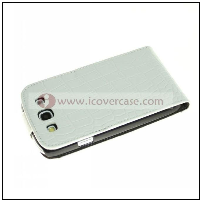 alligator leather pouch cover case for samsung s3 Galaxy i9300 ,phone case