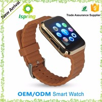 Wrist Watch With Gsm,Camera,And Sim Card Smart Watch Phone For Iphone6 Samsung Android Phone