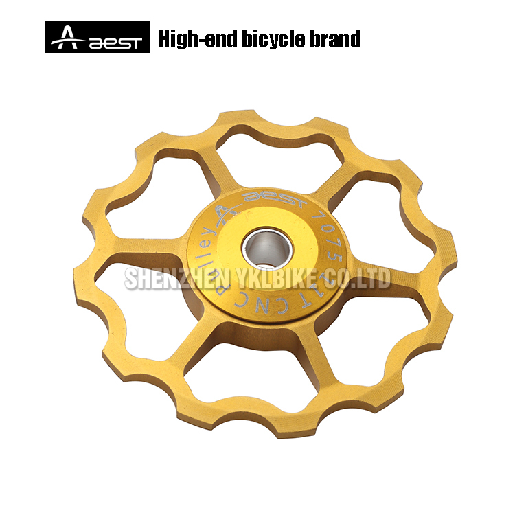 REAR DERAILLEUR PULLEY FOR BICYCLE PARTS