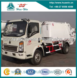 Best Sell SINOTRUK HOWO 4x2 Garbage Compactor Vehicle for Philippines