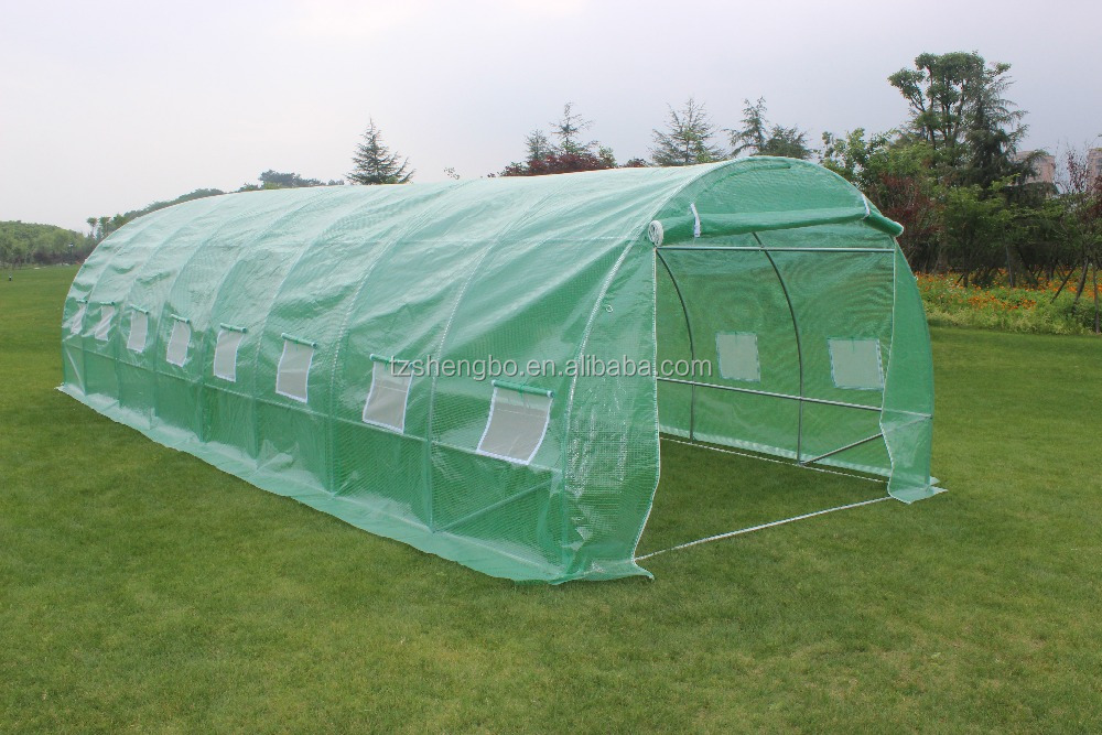 professional poly tunnel green house /agricultural greenhouse8*3*2m