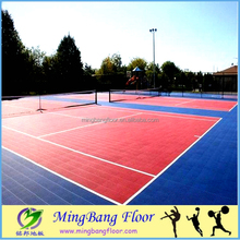 Best Price Portable Premium Quality PP Interlocking Sports Flooring for Outdoor Badminton Court