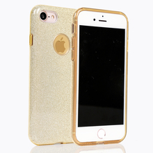 3 in 1 tpu+pc phone case shockproof glitter bling bling combo cover for Huawei ENJOY 7 plus/ Y3 2017/NOVA 2