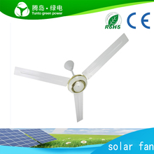 China best price New model dc12v solar dc ceiling fan