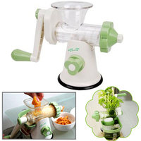 Hand-cranked Healthy Juicer / Manual Fruits and Vegetables electronic Fruit Squeezer