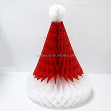 tissue paper made paper hat wholesale christmas ornament