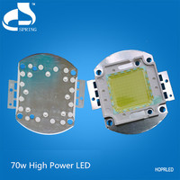 Low operating temperature 70w high power led downing light