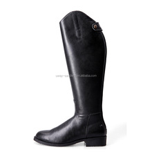 Equestrian horse riding boots, made of genuine leather, different size for choice