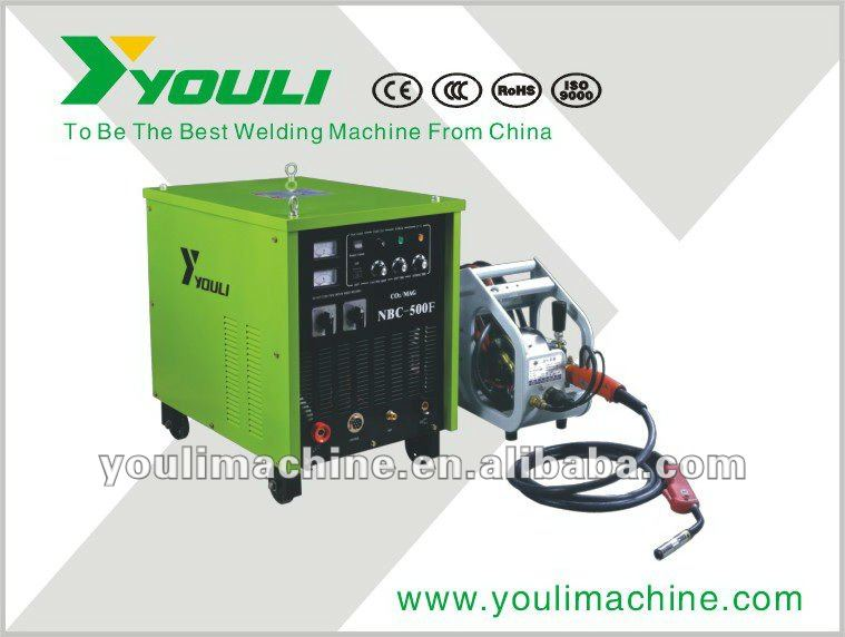 NBC series MIG/MAG welding machine with separated wire feeder--NBC 500F