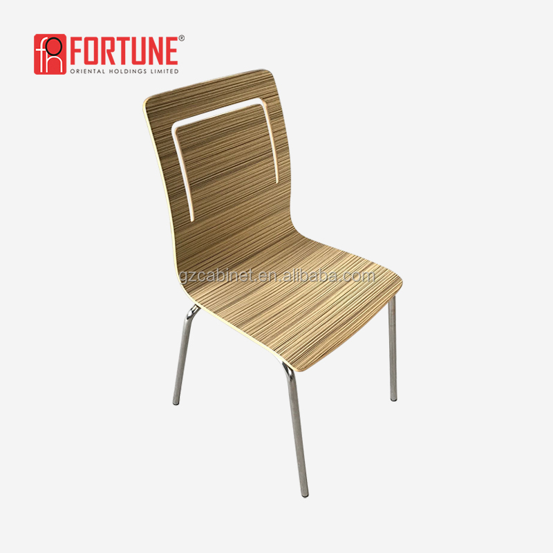 Fast food restaurant bentwood chair the chair FOH-1743Y