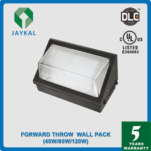 DLC UL CUL Approved IP65 waterproof outdoor led wall packs light/dlc outdoor led wall packs