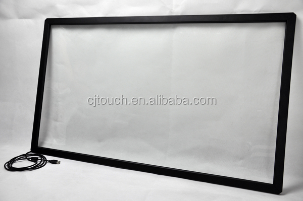 (12-100inch) Digital signage ir touch screen ,46 Inch 2 Points IR Touch Screen Overlay Kit