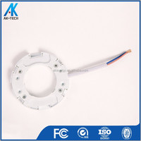 white plastic gx53 light socket and cord , gx53 lamp holder machinery