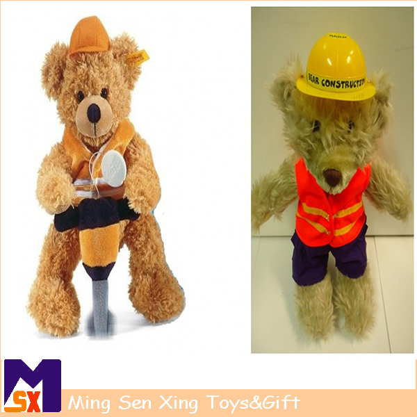 China factory supply super cute personalized teddy plush bear toy for baby girl gifts