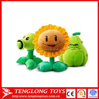 Wholesale stuffed solar plant toy plants vs zombies plush toy