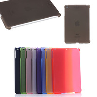 for ipad mini 1 2 3 case, Matte PC hard smart cover case for iPad mini 1 2 3